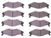 Performance Brake Pad Set PM-H1-PER-302