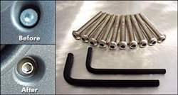 H2 Stainless Dash Bolt Kit PM-H2-INT-707