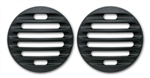 #FJ0003SB Toyota FJ Cruiser Billet Marker Light Guards, Black
