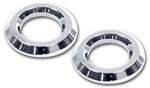 H2/SUT Chrome Billet Tweeter Bezels by Pro 1