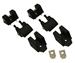 Jeep Billet Hood Latches, Pr PRT-JP1000SB