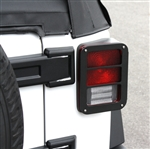 2007-13 Jeep Wrangler JK Billet Tail Light Armor PRT-JP1008SB