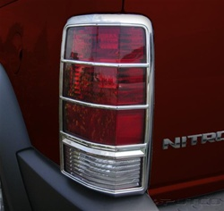 Dodge Nitro Putco Tail Light Covers
