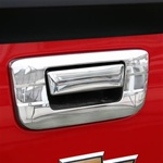 Putco 07-08 Chevy Silverado Chrome Tailgate Handle w/o keyhole