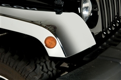 Jeep Wrangler Chromed ABS Fender Flares