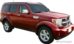 Dodge Nitro Putco Exterior Chrome Package