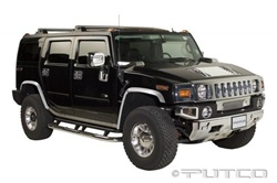 H2 2006-2009 Complete Deluxe Chrome ABS Kit by Putco
