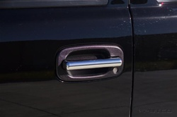 H2/SUT ABS Door Handle Cover Kit - Stealth by Putco