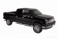 "99-06 Chevy Silverado 1500 Crew Cab  5"" Hybrid Oval Step Bar"