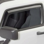 07-08 Silverado Tinted Window Visors Rain Guards by Putco
