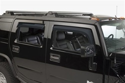 H2/Sut Tinted Window Visors Rain Guards by Putco