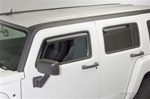 H3 Tinted Window Visors Rain Guards by Putco