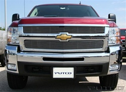 07-08 Chevy Silverado (LD and HD) Shadow Billet Grille by Putco