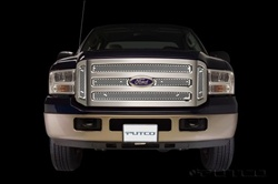 08 Ford Super Duty Racer Stainless Steel Grille (not for XL) By Putco