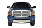 '06-'07 Dodge Ram 1500 Punch Stainless Steel Grille by Putco