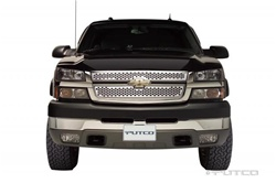 '99-'06 Chevy Silverado Light Duty Punch Stainless Steel Grille by Putco