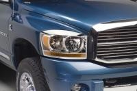06+ Dodge Ram Head Lamp Overylays and Rings by Putco