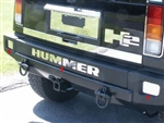 "8 Piece ""HUMMER"" Rear Bumper Insert Package QAA-HV43-001"