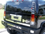 2003-2011 Hummer H2 14 Piece Taillight Trim Package QAA-HV43-016