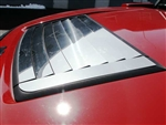 Hummer H3 Stainless Steel 9-Pc Hood Vent Trim QAA-HV46-303