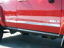 2006-2009 Hummer H3 4 Piece Side Moldings Trim QAA-HV46-304