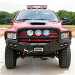 Front Stealth Winch Bumper, Lonestar Guard RA-40805