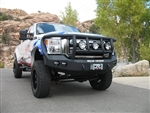 Front Stealth Winch Bumper with Lonestar Guard RA-60805