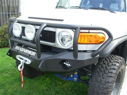 2006+ Toyota FJ Front Stealth Winch Bumper with Titan Guard RA-FJ801