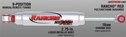 H2/SUT RS9000XL Rear Shock Absorber by Rancho