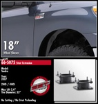 "ReadyLift™ kit is the fastest, safest, least expensive way to bring the front of your NEW 2007 TOYOTA TUNDRA level with the rear. This gives you the clearance and ability to add wheels and tires up to 33"" in diameter."