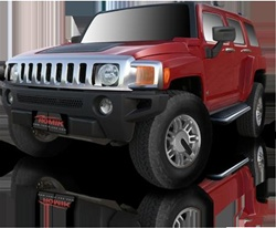 2005-2009 Hummer H3 Runningboard Side Steps by Romik