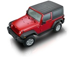2007-2009 Wrangler 2 Door Runningboard Side Steps by Romik