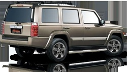 2005-2009 Jeep Commander Max Bars Side Steps by Romik