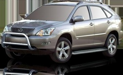 2004-2009 Lexus RX400H Runningboard Side Steps by Romik