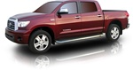 2007-2009 Toyota Tundra Crew Max Cab Side Steps by Romik
