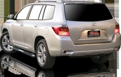 2001-2007 Toyota Highlander Max Bars Side Steps by Romik