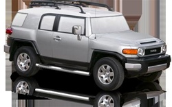 2007-2009 Toyota FJ Cruiser Max Bars Side Steps by Romik