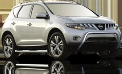 2009 Nissan Murano Max Bars Side Steps by Romik