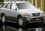 2003-2009 Kia Sorento Max Bars Side Steps by Romik