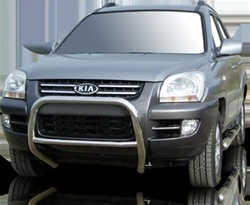 2005-2009 Kia Sportage Max Bars Side Steps by Romik