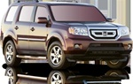 2009+ Honda Pilot Max Bars Side Steps by Romik