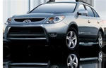 2007-2009 Hyundai Veracruz Max Bars Side Steps by Romik