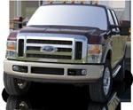 1999-2009 Ford F-550 Super Cab Runningboard Side Steps by Romik