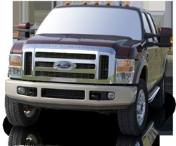 1999-2009 Ford F-350 Super Crew Max Bars Side Steps by Romik