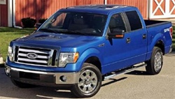 2009 Ford F-150 Super Cab Max Bars Side Steps by Romik