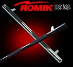 2007-2009 Hyundai Santa Fe Max Bars Side Steps by Romik