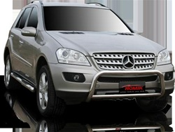 2002-2005 Mercedes Benz ML (exc. AMG) Max Bars Side Steps by Romik