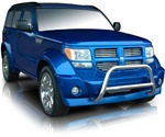 "2007-2009 Dodge Nitro Bull Bar (2.5"") by Romik"