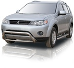 "2007-2009 Mitsubishi Outlander Bull Bar (2.5"") by Romik"