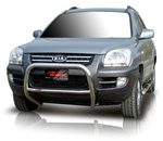 "2009 Kia Sportage Bull Bar (2.5"") by Romik"